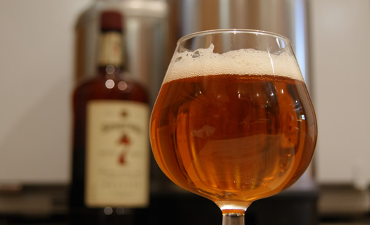 Boosting Beer Flavor with Flavored Alcohol
