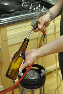Bottling Home Brew From a Keg