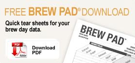 Brew Pad Data Sheets