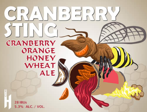 Cranberry Sting Honey Wheat