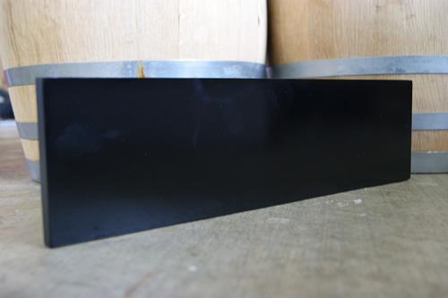 Black Dry Erase Beer Menu Board