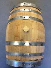 15 Gallon Used Whiskey Barrel