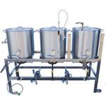 Low Rider Flat Brewing System V4 - 20 Gallon