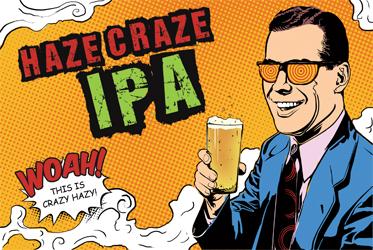 Haze Craze - NEIPA All Grain (5 GALLONS)