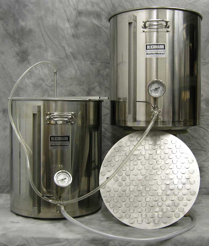 55 Gallon All Grain Kettle Kit
