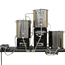 Electric Mashing Home Brewing System