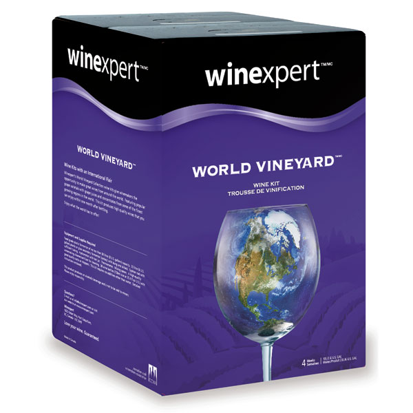 Washington Merlot with Grape Skins, World Vineyard