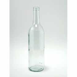 Claret/Bordeaux 750 ml Clear, 12/case