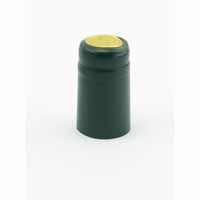 Metallic Green Shrink Caps