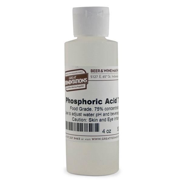 Phosphoric Acid - 75% concentration, 4 oz.