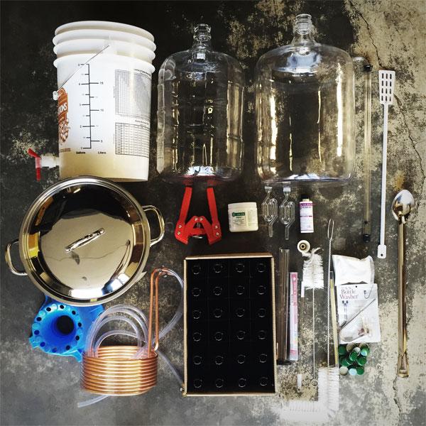 Ultimate Brewing Starter Kit for Bottling - Classic Dry Stout kit