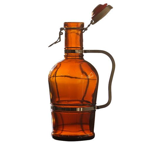 2 Liter Metal Handle Growler