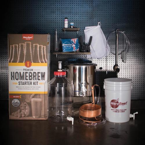 Premium Homebrew Starter Kit with Fermonster