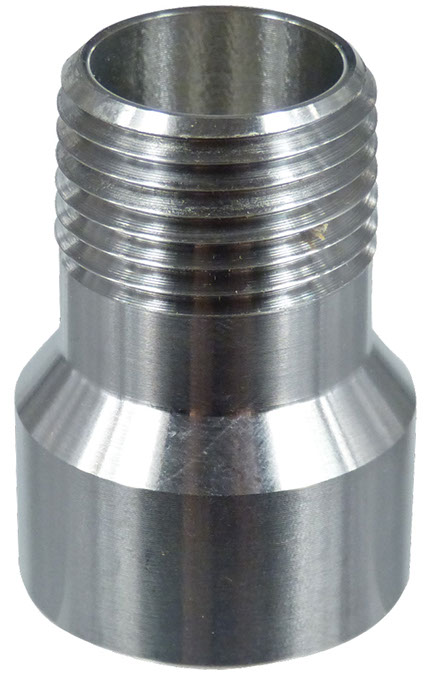 """1/2"""" FPT by 1/2"""" MPT Stainless Adapter"""