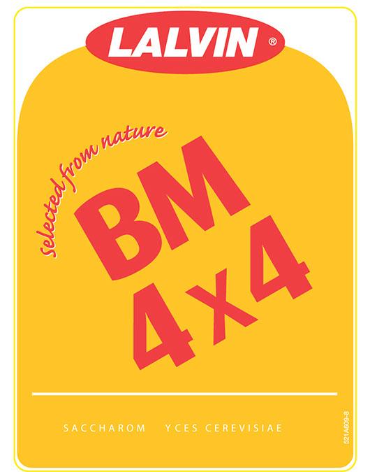 BM 4X4 Dry Wine Yeast (500 g)