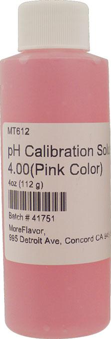 pH Calibration Solution 4.00