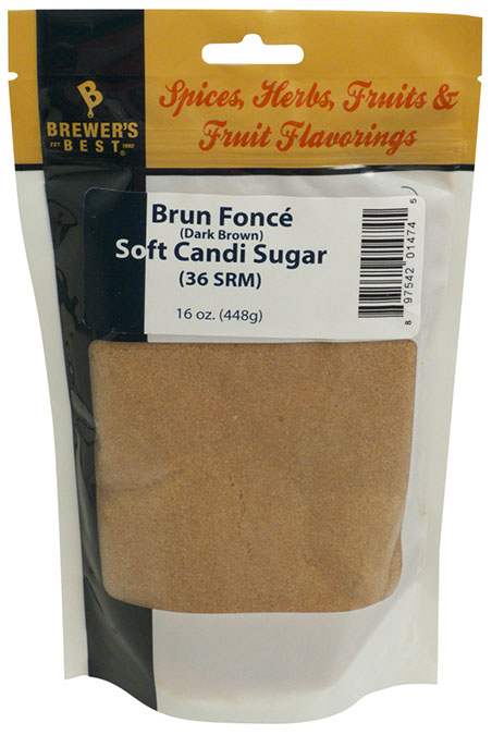 Soft Belgian Candi Sugar (Brown - 1 lb)
