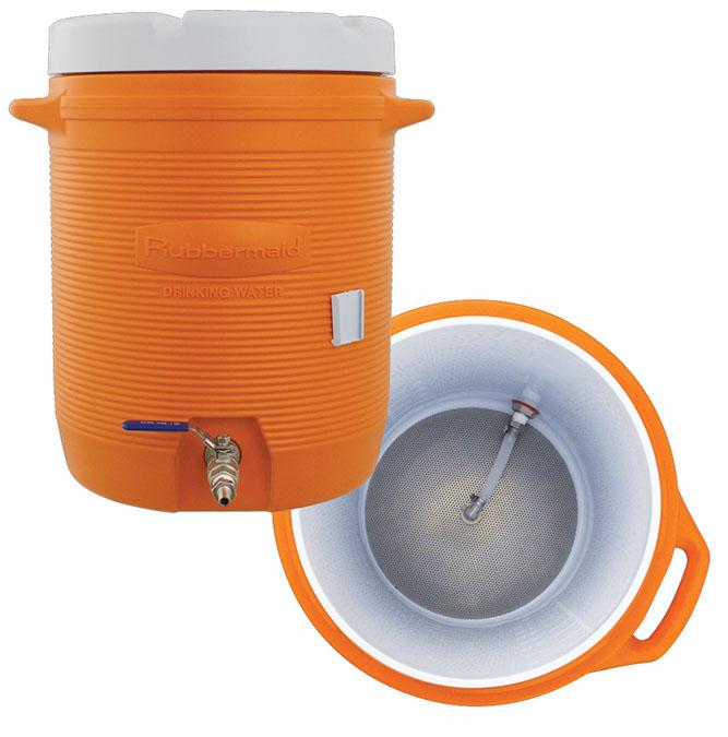 Cooler Mash Tun - 10 Gallon