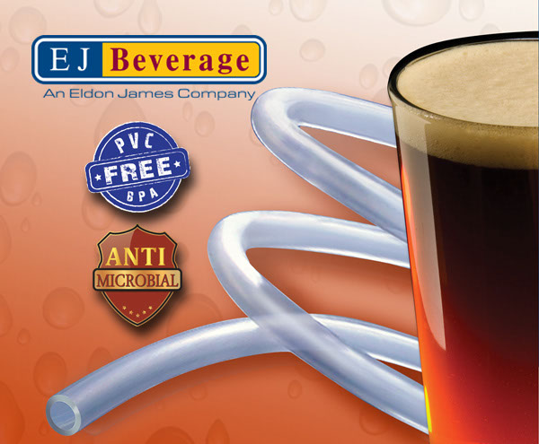 Ultra Barrier Silver??? Antimicrobial and PVC Free Beer Tubing - (1/4 in ID) - By the Foot