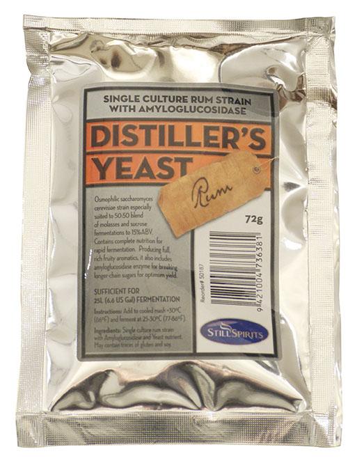 Turbo Yeast - Rum Distiller