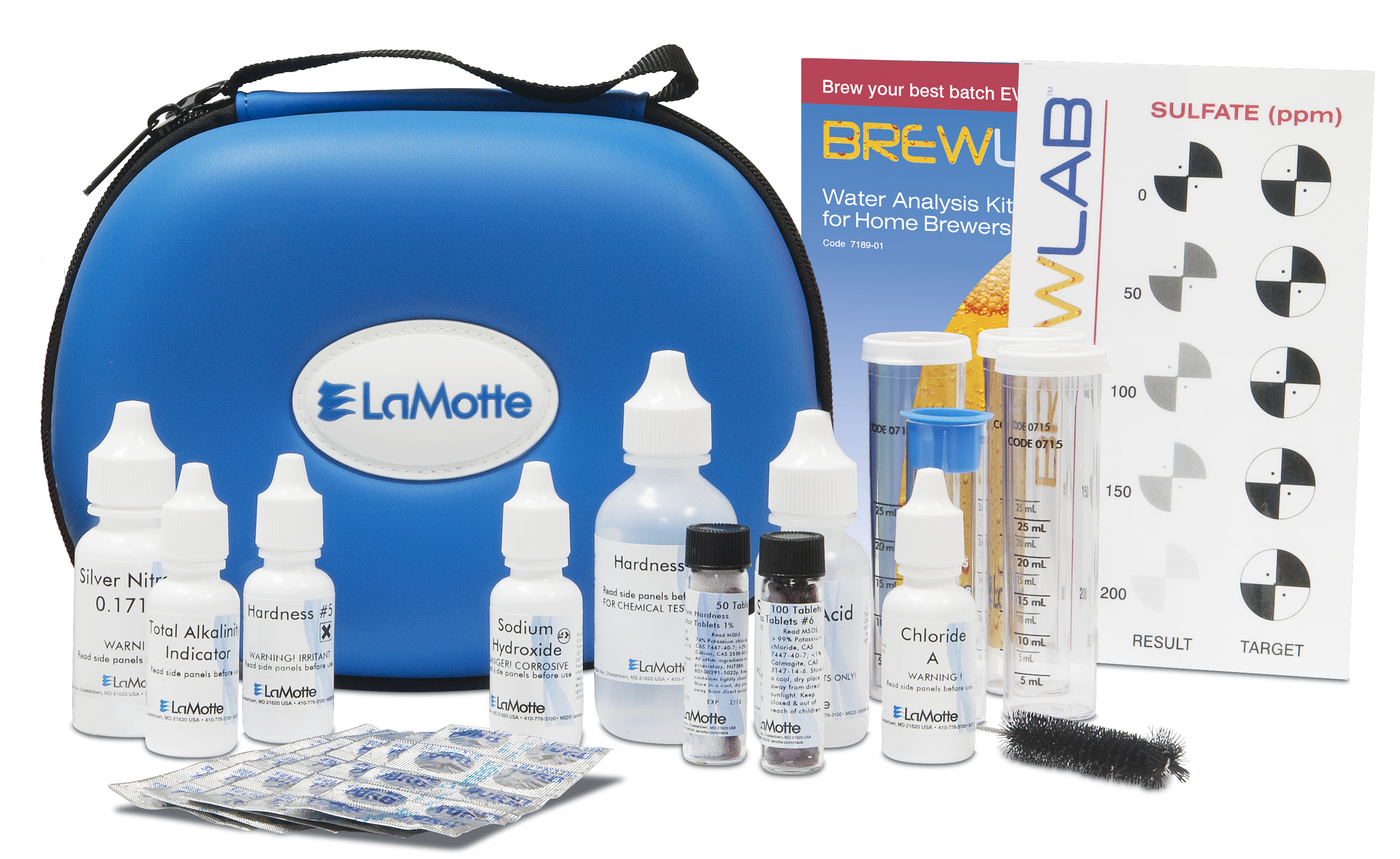 LaMotte - BrewLab Basic Water Test Kit 7189-01