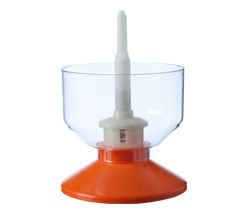 Sanitizer Injector for Stationary Bottle Trees