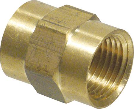 """Brass - 1/2"""" Coupler"""