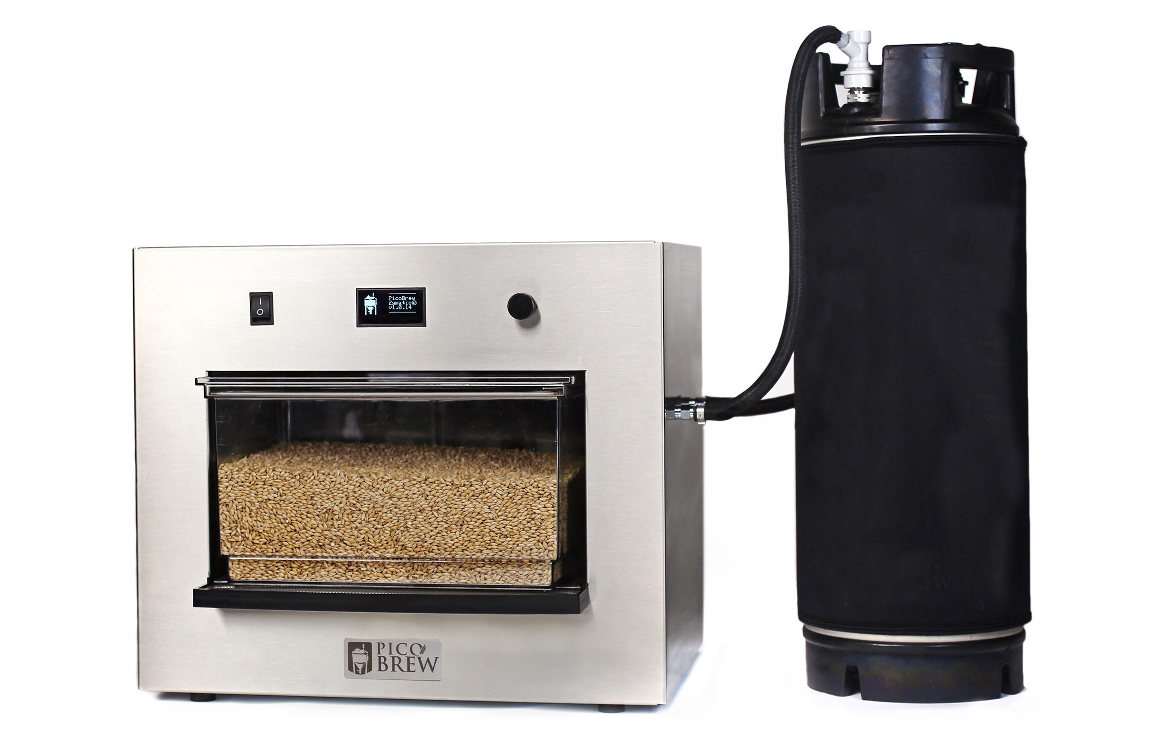 PicoBrew Zymatic Machine with Keg