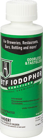 BTF Iodophor Sanitizer 16 oz