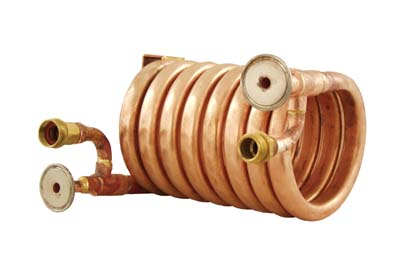 Wort Chiller - Counterflow Chiller (With Tri-Clover Fittings)