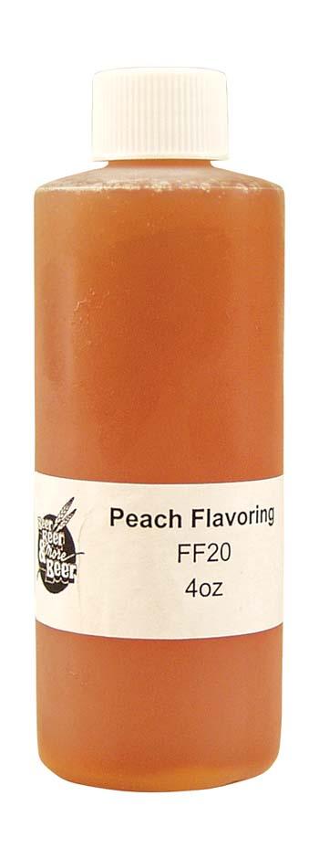 Fruit Flavorings - Peach (4 oz)