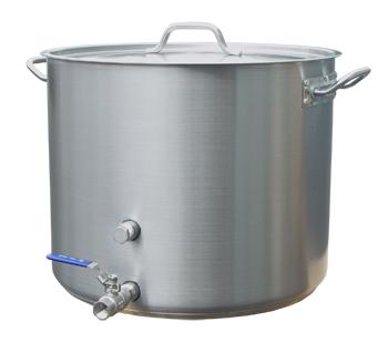 15 Gallon Heavy Duty Stainless Brew Kettle