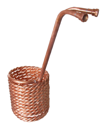 Convoluted Copper Heat Exchanger