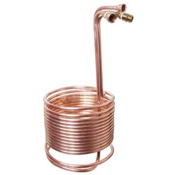 Immersion Wort Chiller with Recirculation Arm