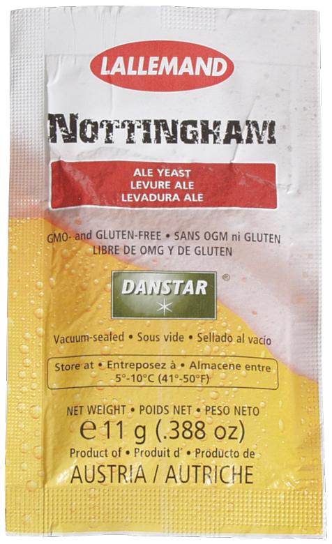 Dry Yeast - Nottingham Ale (11 g)