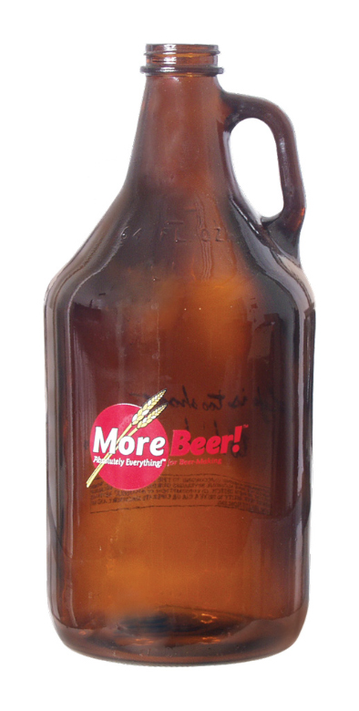 The MoreBeer! Growler (64oz)