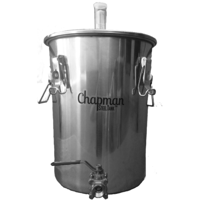 14 Gallon SteelTank Fermenter