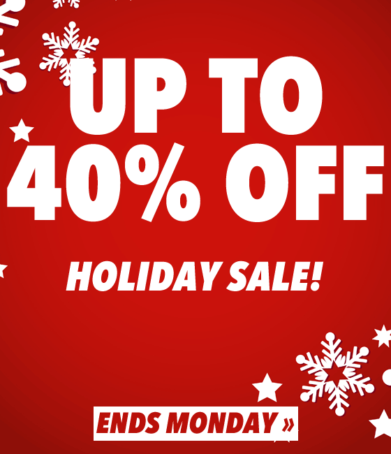 Holiday Sale Up to 40% OFF 🎅