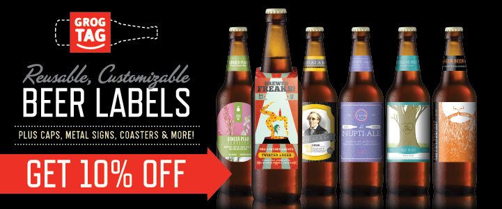 10% Off Reusable Beer Labels