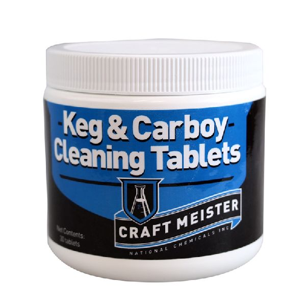 Craft Meister Keg & Carboy Cleaning Tabs- 30 count
