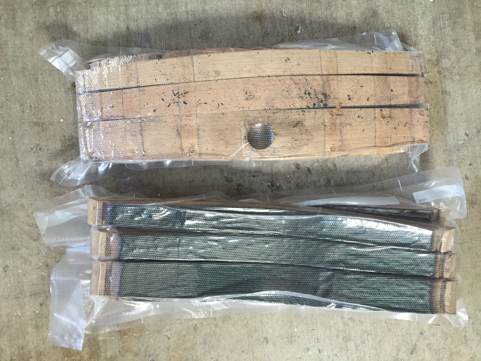 how to clean whiskey barrel staves