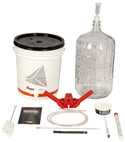BSG Handcraft Gold Homebrew Kit w/ Glass Carboy