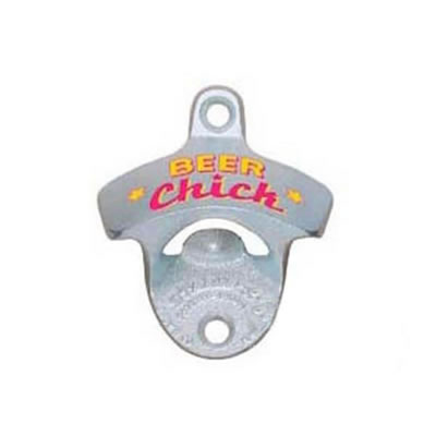 Beer Chick Wall Mount Starr Bottle Opener