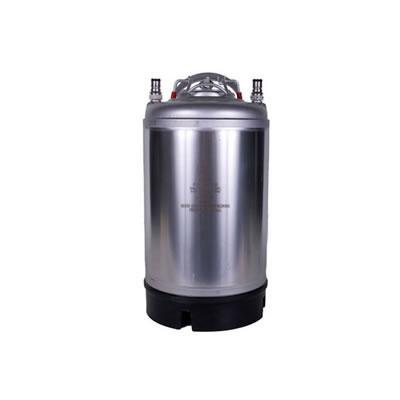 3 Gallon Stainless Steel Ball Lock Keg (New AEB Italian Keg)