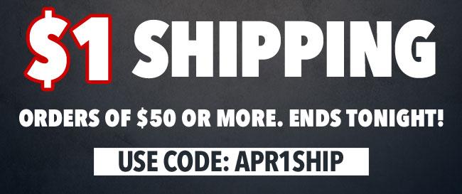 $1 Shipping!