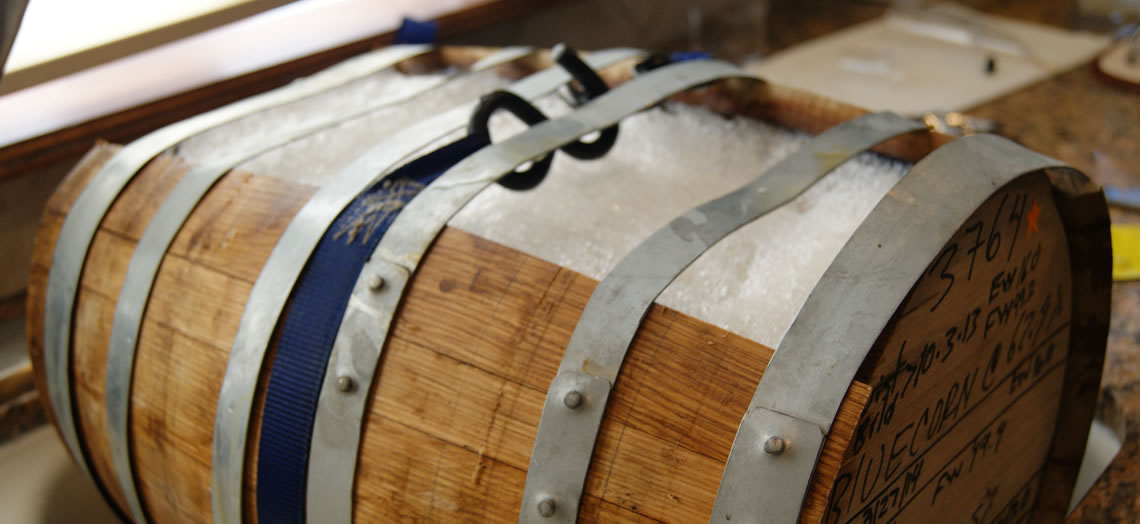Open Fermentation with Wood Barrels