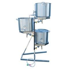The Original 10 Gallon Gravity All-Grain Brewing System - 1000D