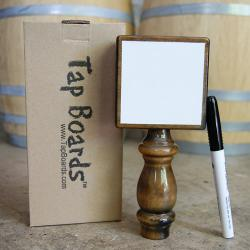 Homebrew White Dry Erase Tap Handle