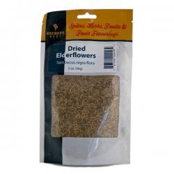 Dried Elderflowers, 2 oz.