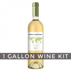Italian Pinot Grigio, World Vineyard 1 Gallon Wine Kit